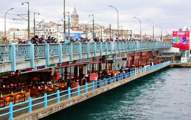 Virginia Duran Blog- 10 Sites To Take The Best Skyline Pictures in Istanbul- Galata Bridge- 1