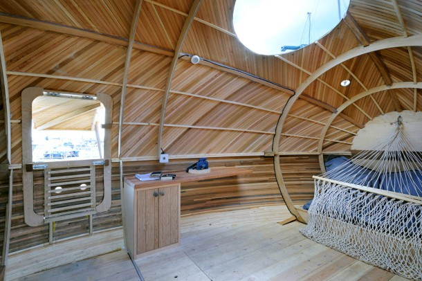 Virginia Duran Blog- Floating Homes- Exbury Egg by PAD Architects- Interior