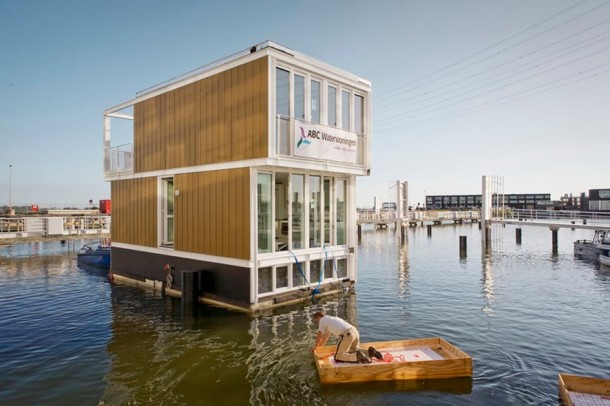 Virginia Duran Blog- Floating Homes- Floating Houses in IJburg by Architectenbureau Marlies Rohmer-unit