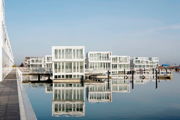 Virginia Duran Blog- Floating Homes- Floating Houses in IJburg by Architectenbureau Marlies Rohmer
