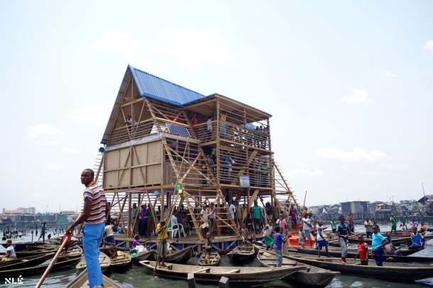 Virginia Duran Blog- Floating Homes- Makoko Floating School by NLE Architects-