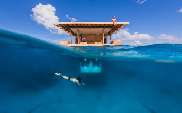 Virginia Duran Blog- Floating Homes- Manta Resort- Genberg Underwater Hotels- Water