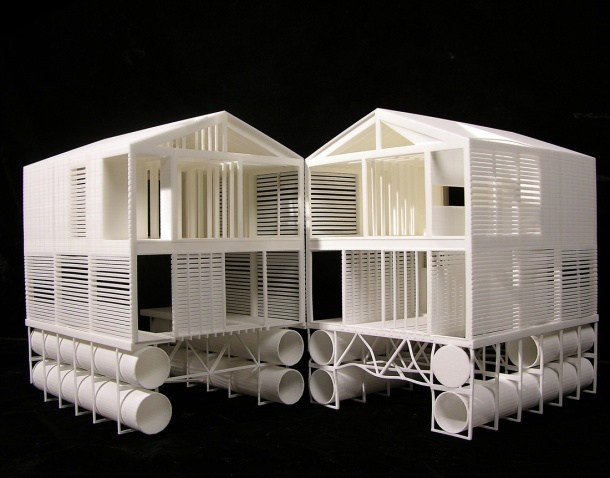 Virginia Duran Blog- Floating Homes- The Island Home by MOS- Model