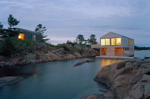 Virginia Duran Blog- Floating Homes- The Island Home by MOS