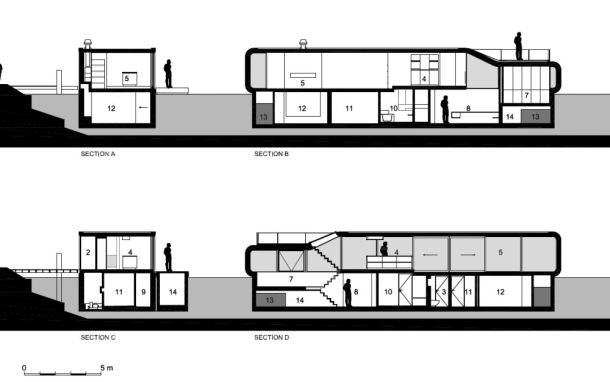 Virginia Duran Blog- Floating Homes- Watervilla-de-Omval by +31 Architects-1-Section