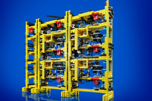 Virginia Duran Blog- Top LEGO designs- LEGO Difference Engine