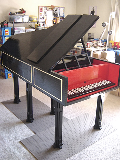 Virginia Duran Blog- Top LEGO designs- Lego harpsichord