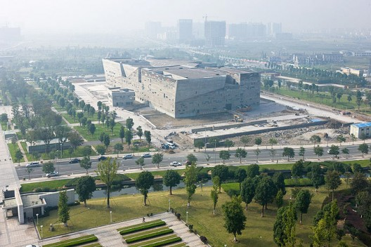 Virginia Duran Blog- Amazing Museums- Ningbo by Wang Shu-exterior