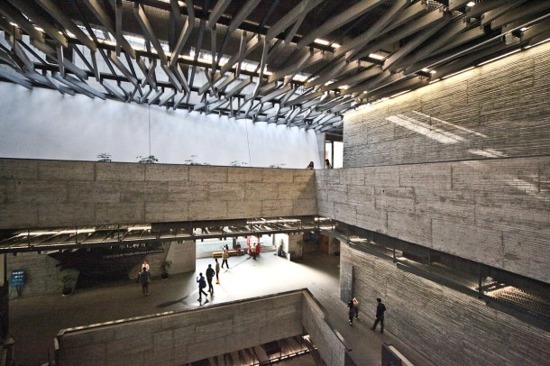 Virginia Duran Blog- Amazing Museums- Ningbo by Wang Shu-interior