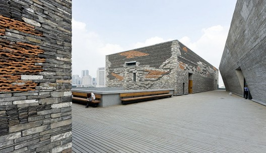 Virginia Duran Blog- Amazing Museums- Ningbo by Wang Shu-materials