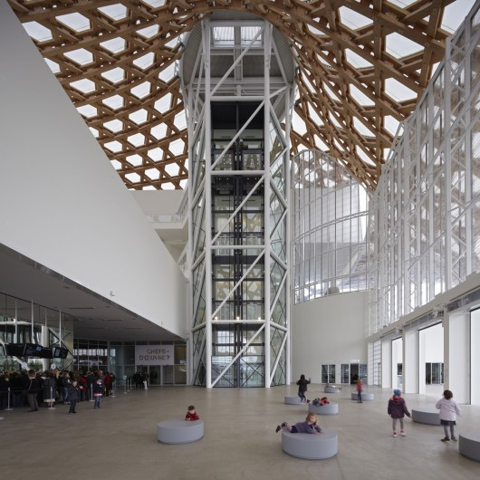 Virginia Duran Blog- Amazing Museums- Shigeru Ban- Metz-France-interior