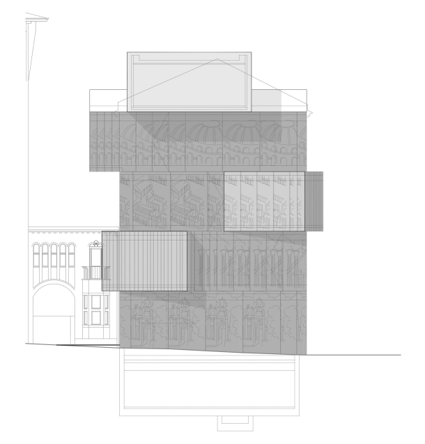 Virginia Duran Blog- Amazing Museums- Tchoban Foundation – Museum for Architectural Drawing-elevation