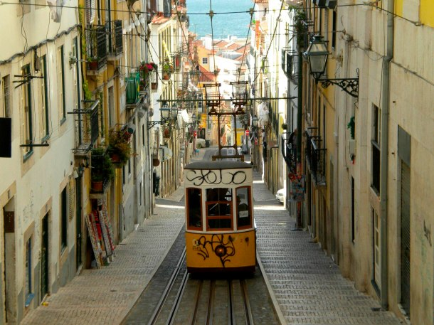 Virginia Duran Blog- 10 Sites for Amazing Skyline Pictures-Lisbon-Rua da Bica