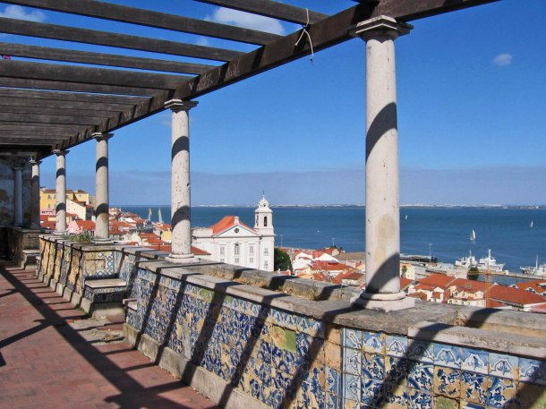 Virginia Duran Blog- Sites for Amazing Skyline Pictures-Lisbon-Miradouro Santa Luzia