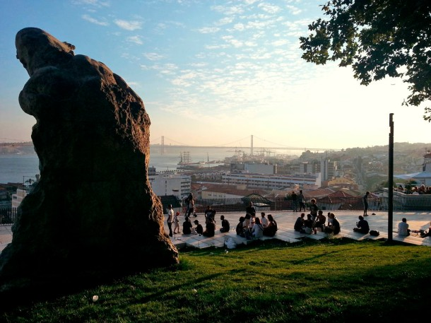 Virginia Duran Blog- Sites for Amazing Skyline Pictures-Lisbon-Santa Catarina-