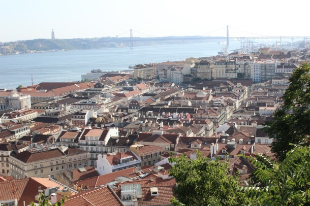 Virginia Duran Blog- Sites for Amazing Skyline Pictures-Lisbon-St Georges Castle