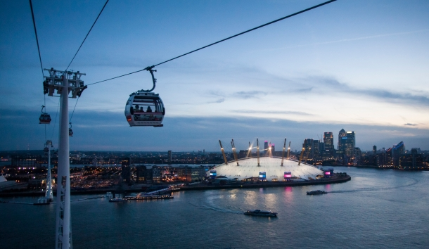 Virginia Duran Blog-London-Best skyline photography-Emirates Air Line