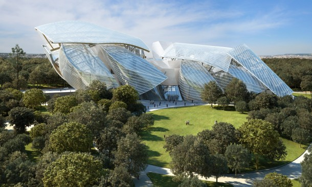 Virginia Duran Blog-Buildings in Paris if you Love Architecture- Fondation Louis Vuitton Paris by Frank Gehry-
