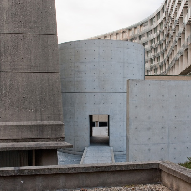 Virginia Duran Blog-Buildings in Paris if you Love Architecture- Meditation Space by Tadao Ando