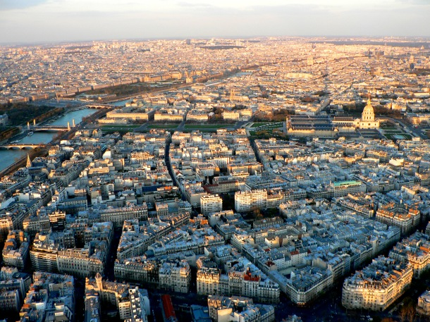 Virginia Duran Blog-Buildings in Paris if you Love Architecture- views from Eiffel Tower