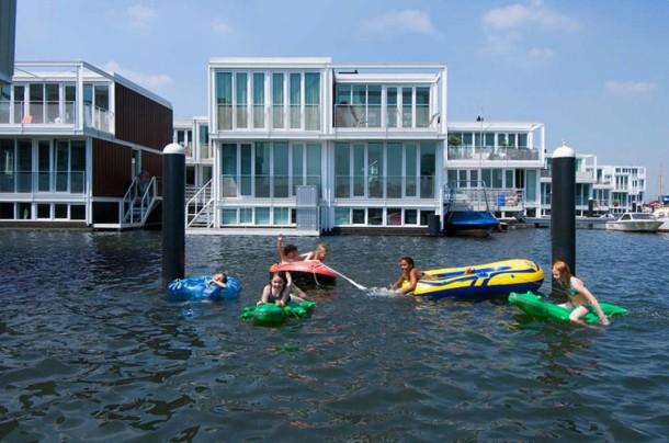 Virginia Duran Blog-Amazing architecture Amsterdam-Floating Houses in IJburg-