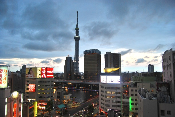 Virginia Duran Blog-Best sites to take Skyline Pictures in TOKYO-Asakusa Culture and Tourism Center-skytree