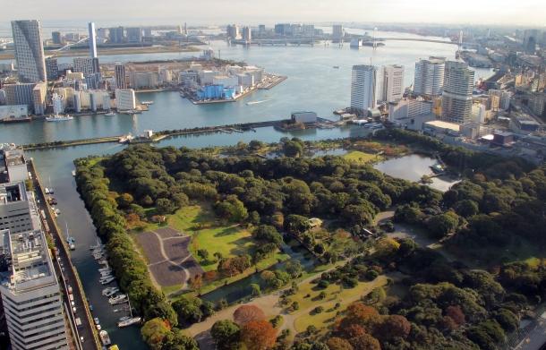 Virginia Duran Blog-Best sites to take Skyline Pictures in TOKYO-Caretta SHIODOME