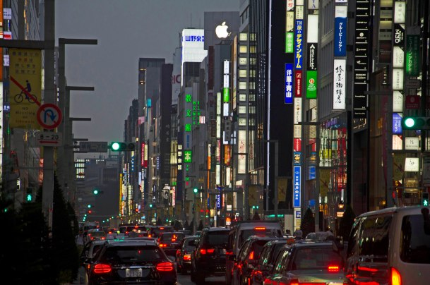 Virginia Duran Blog-Best sites to take Skyline Pictures in TOKYO-Ginza Chuo Dori Avenue-