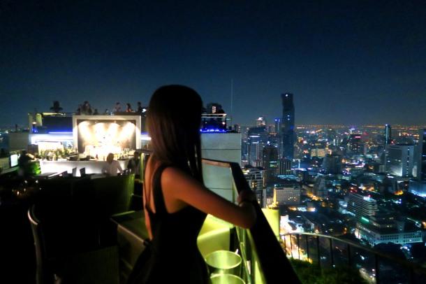 Virginia Duran Blog- Amazing Skyline Rooftops Bangkok- Banyan Tree-Vertigo Rooftop