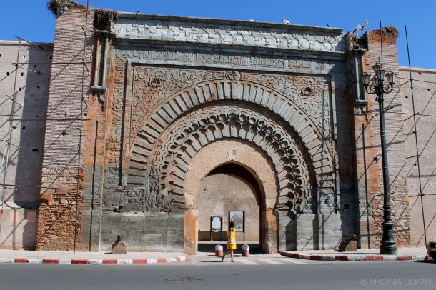 Virginia Duran- Marrakech Top Architecture-Bab Agnaou Door Entrance