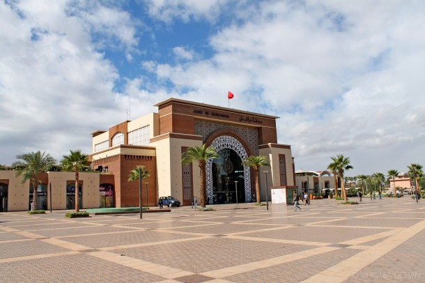 Virginia Duran- Marrakech Top Architecture-ONCF Railway Station