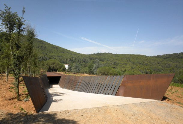 Virginia Duran Blog- Architecturally Amazing Wineries- Bell-lloc Winery by RCR