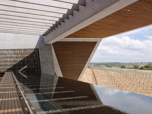 Virginia Duran Blog- Architecturally Amazing Wineries- Bodegas Portia by Foster + Partners- interior