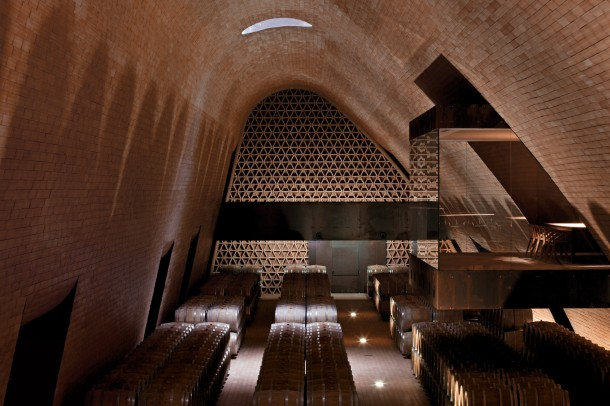 Virginia Duran Blog- Architecturally Amazing Wineries- cantina-antinori-bargino-interior