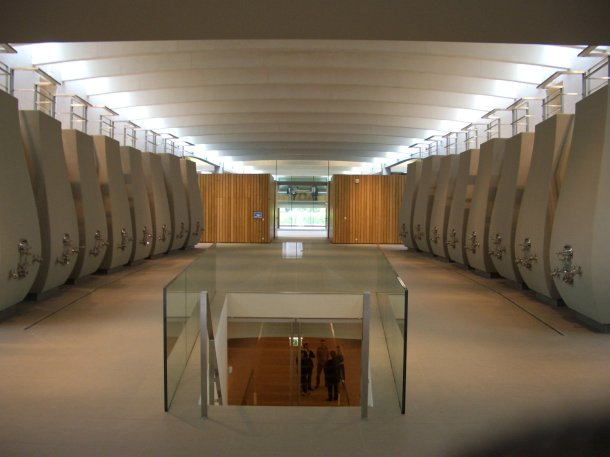 Virginia Duran Blog- Architecturally Amazing Wineries- Cheval Blanc by Christian de Portmanzac-interior