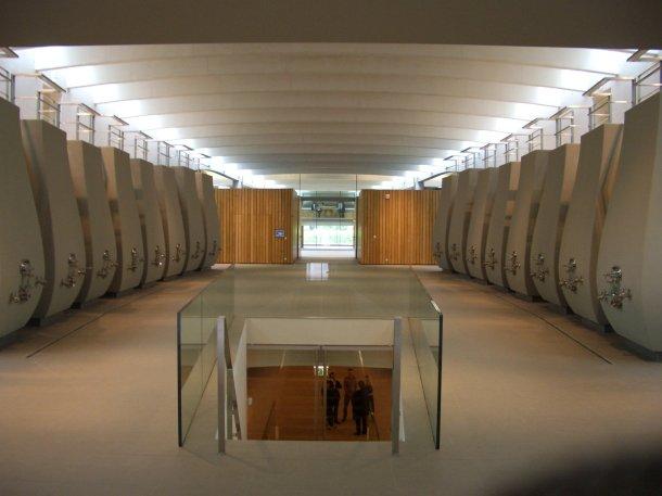 Virginia Duran Blog- Architecturally Amazing Wineries- Cheval Blanc by Christian de Portmanzac-interior