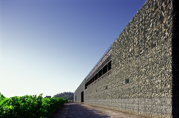 Virginia Duran Blog- Architecturally Amazing Wineries- Dominus Winery by Herzog & de Meuron- Detail