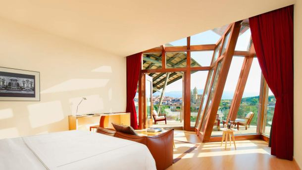 Virginia Duran Blog- Architecturally Amazing Wineries- Marques de Riscal by Frank Gehry-interior