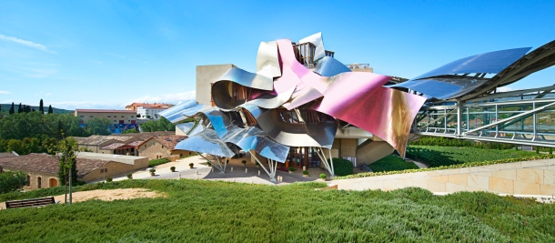 Virginia Duran Blog- Architecturally Amazing Wineries- Marques de Riscal by Frank Gehry