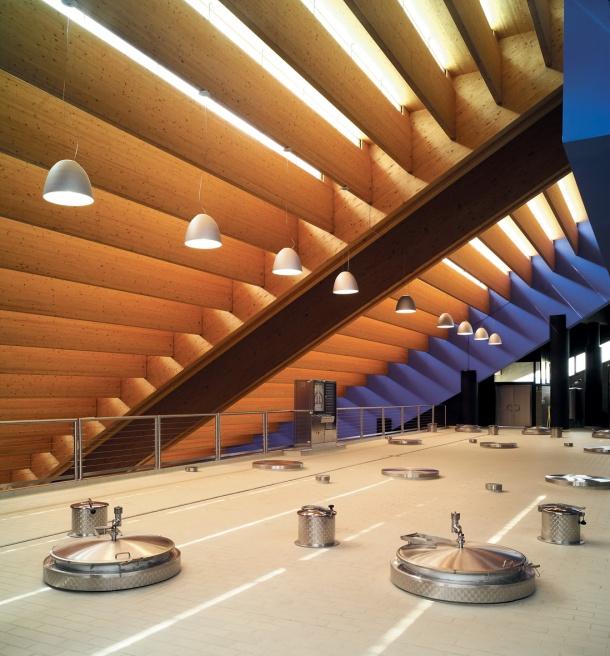 Virginia Duran Blog- Architecturally Amazing Wineries- Petra Winery by Mario Botta-Interior