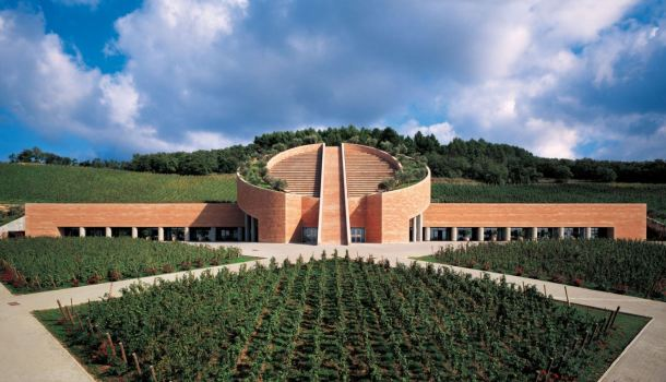 Virginia Duran Blog- Architecturally Amazing Wineries- Petra Winery by Mario Botta