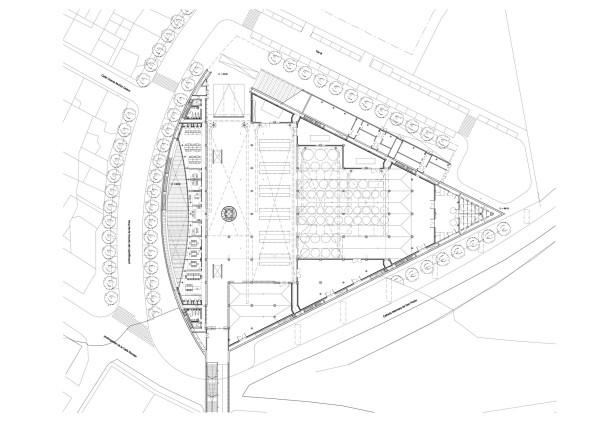 Virginia Duran Blog- Architecturally Amazing Wineries- Protos by Richard Rogers-Floor Plan
