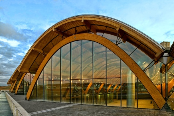 Virginia Duran Blog- Architecturally Amazing Wineries- Protos by Richard Rogers