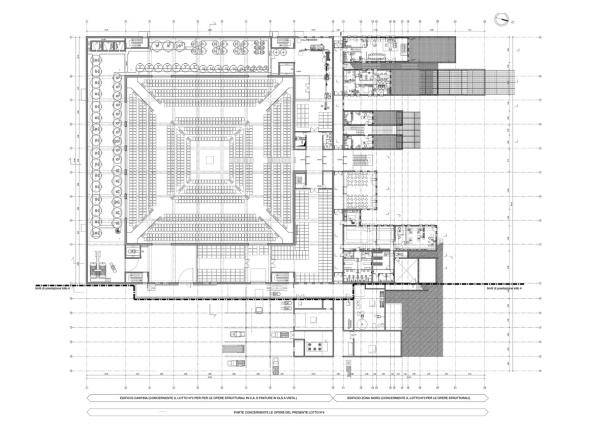 Virginia Duran Blog- Architecturally Amazing Wineries- Rocca di Frassinello by Renzo Piano- Floor Plan
