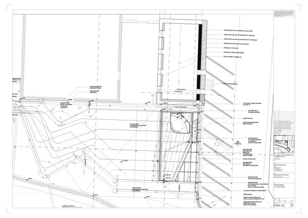 Virginia Duran Blog- Architecturally Amazing Wineries- Tondonia by Zaha Hadid-floor plan