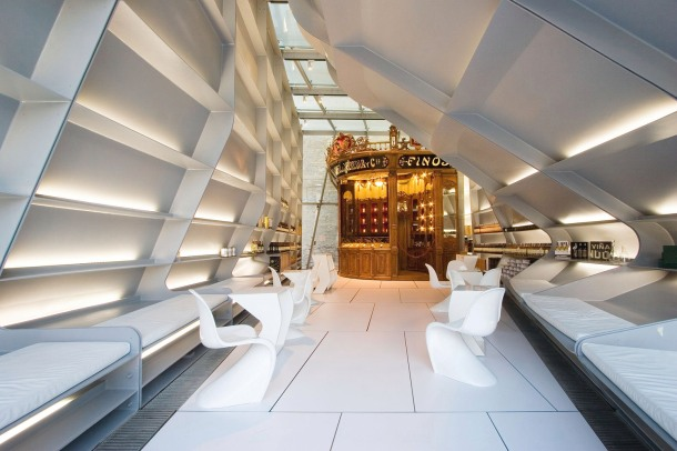 Virginia Duran Blog- Architecturally Amazing Wineries- Tondonia by Zaha Hadid-interior