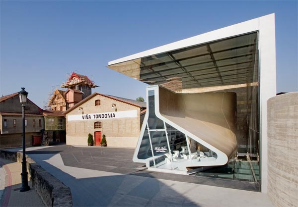 Virginia Duran Blog- Architecturally Amazing Wineries- Tondonia by Zaha Hadid