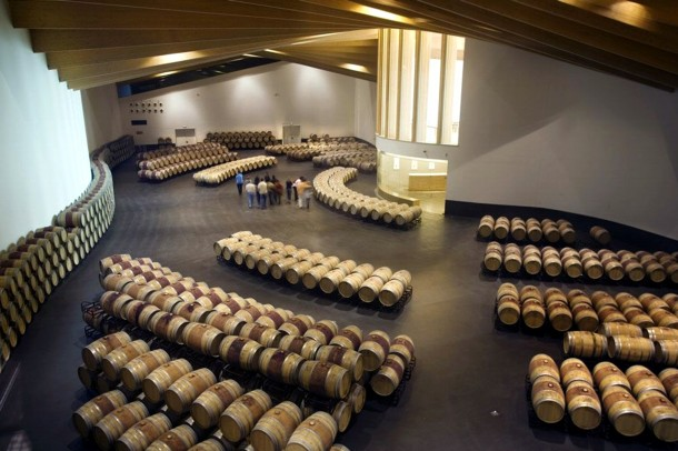 Virginia Duran Blog- Architecturally Amazing Wineries- Ysios by Calatrava-Interior