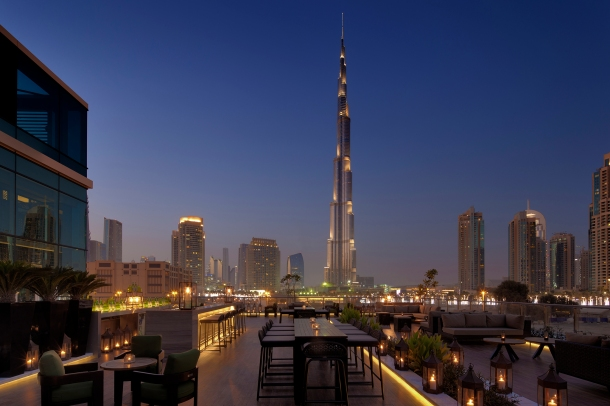 Virginia Duran Blog- 10 Sites To Take The Best Skyline Pictures in Dubai- Taj Hotel Treehouse