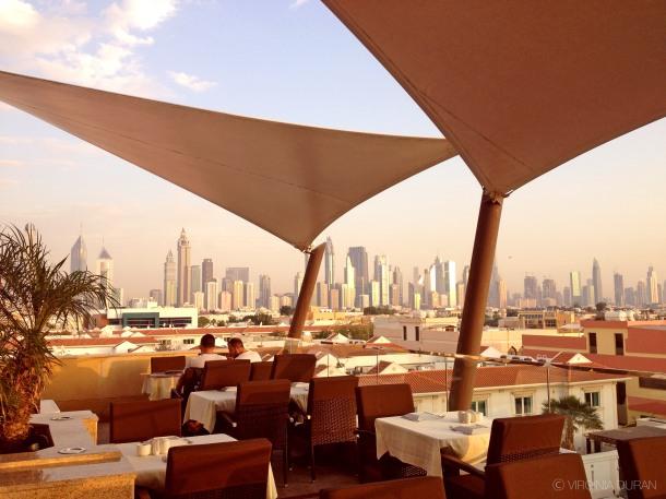 Virginia Duran Blog- 10 Sites To Take The Best Skyline Pictures in Dubai- Turkish Village Restaurant